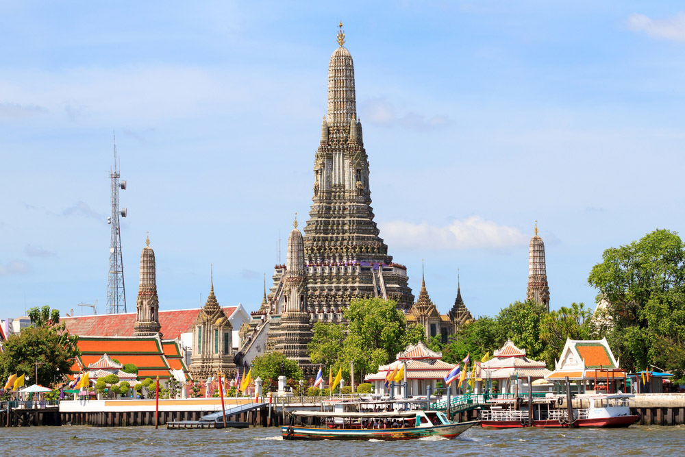 Wat Arun, Bangkok. Photo: Shutterstock
