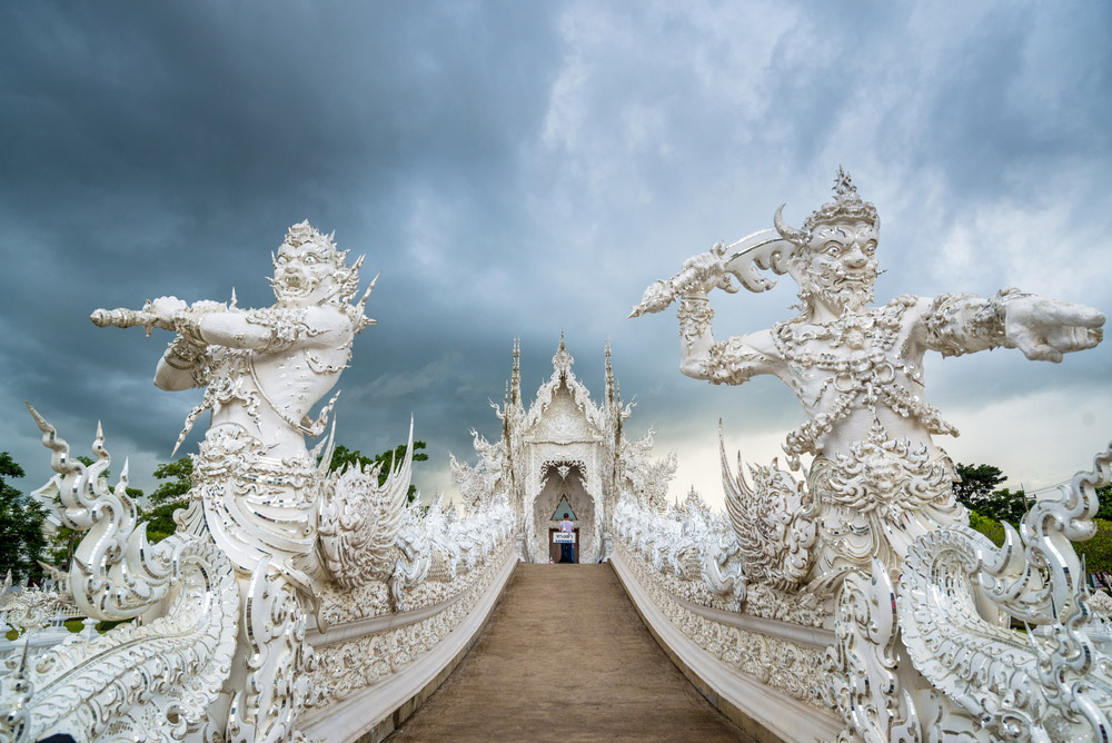 Wat Rong Khun (White Temple), Chang Rai. Photo: Shutterstock