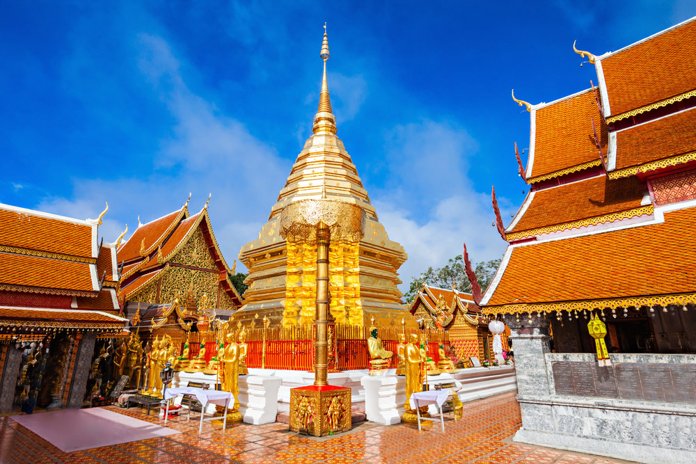 Wat Phra That Doi Suthep. Photo: Shutterstock