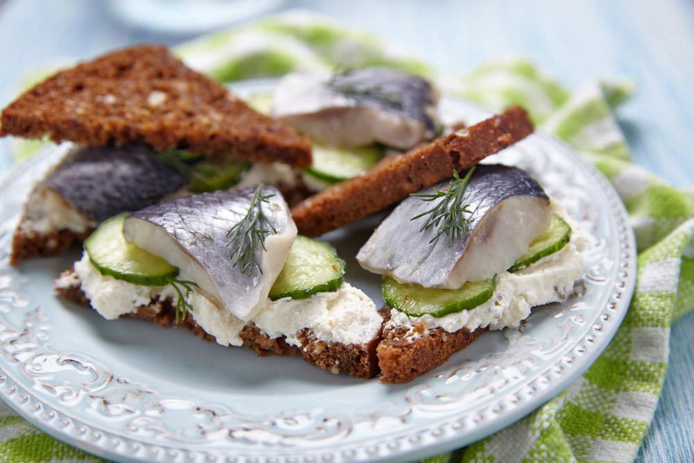 Do try the herring in Amsterdam! Photo: Shutterstock