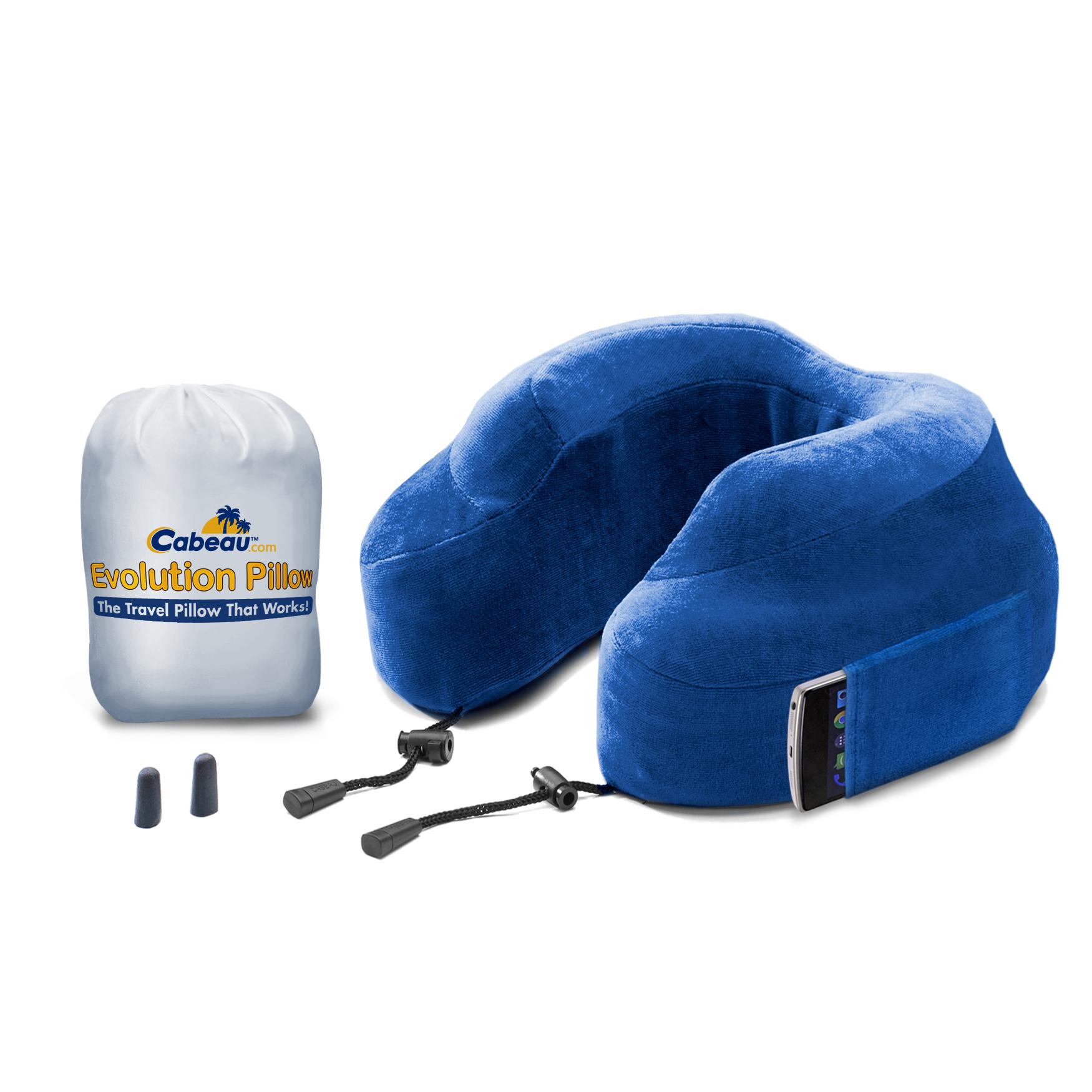 The Cabeau Memory Foam Evolution neck pillow.