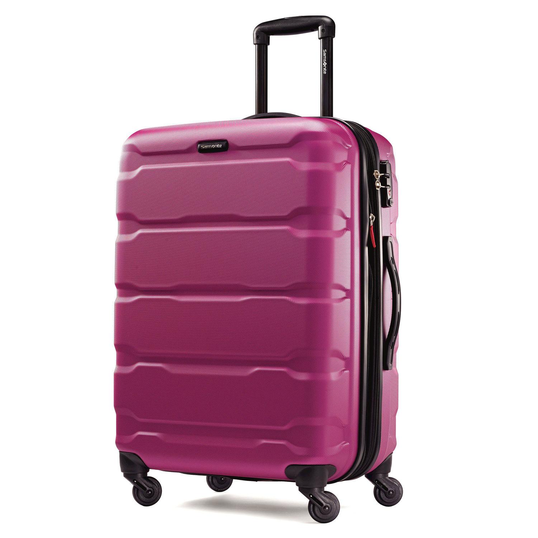 Samsonite Spinner carry-on bag.
