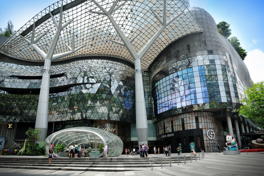 Orchard Road malls. Photo: tristan tan/Shutterstock