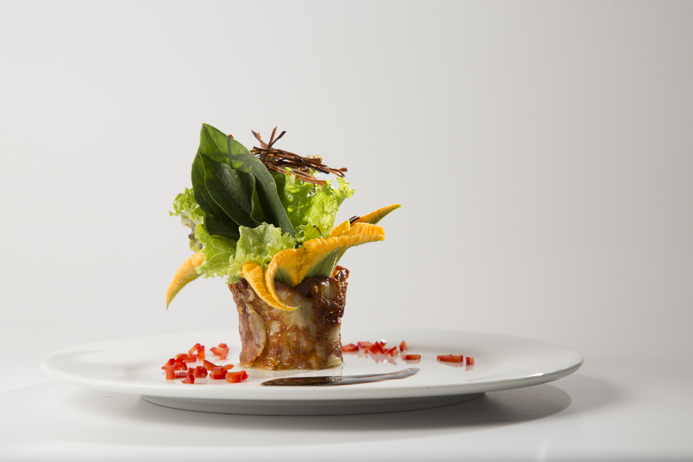 A fine dining take on salad. Photo: Shandor/Shutterstock
