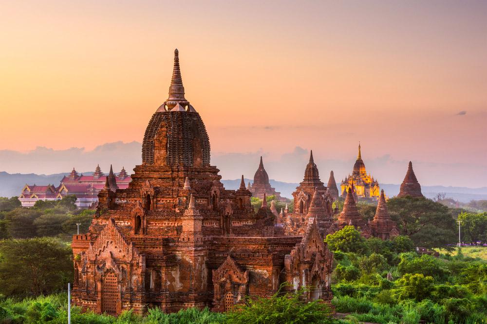 Bagan, Myanmar temples. Photo: Shutterstock
