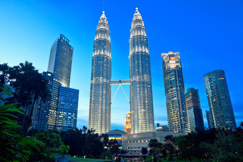 Petronas Twin Towers in Kuala Lumpur. Photo: Shutterstock