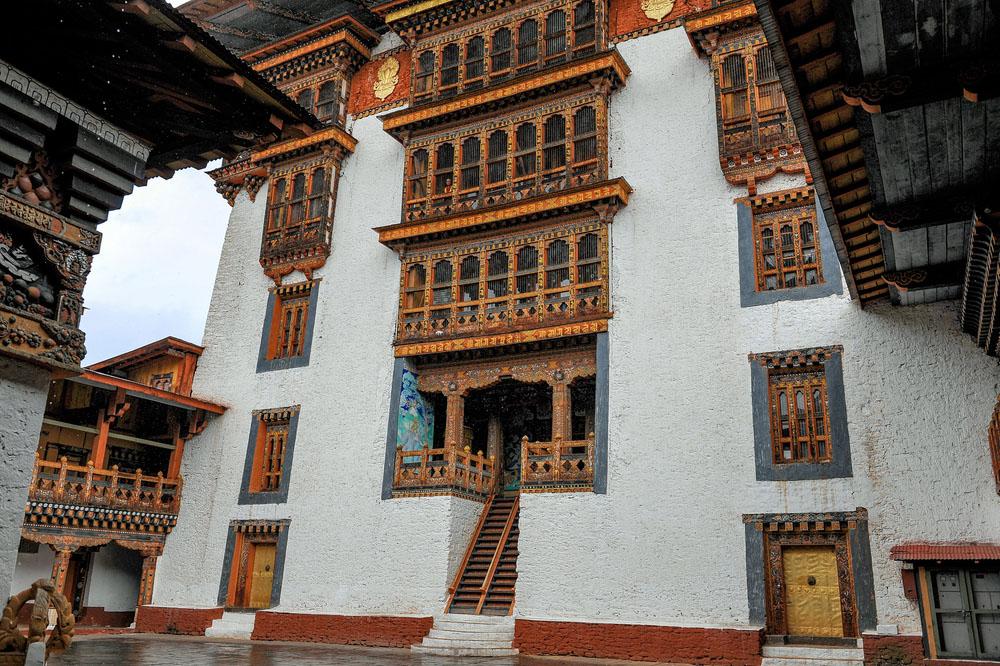 Thimphu temple. Photo: Shutterstock