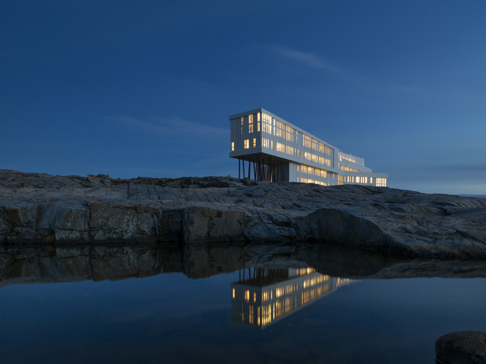 Fogo Island Inn. Photo: Alex Fradkin/Fogo Island Inn