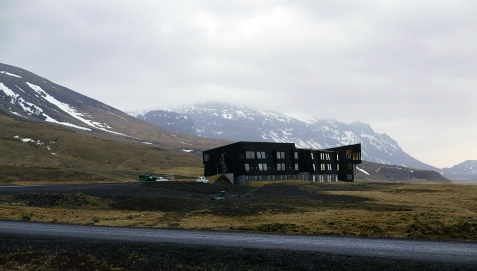 Fosshotel Glacier Lagoon.