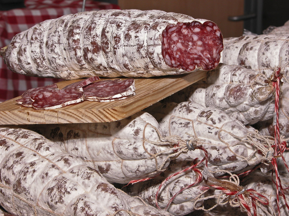 Saucisson Rosette, a local speciality. Photo: INRA DIST/Flickr