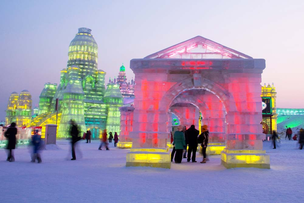 Ice and Snow World in Harbin. Photo: Shutterstock