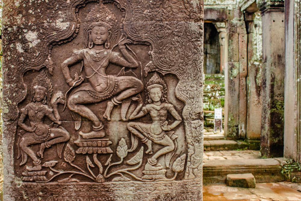 Angkor Wat bas-relief. Photo: Moreorange/Shutterstock