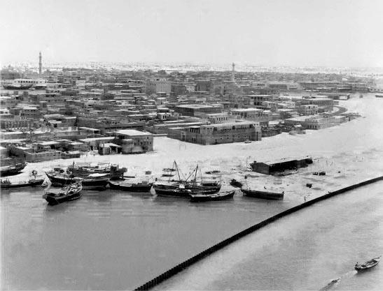 Al Ras historic district of the Deira region of Dubai.