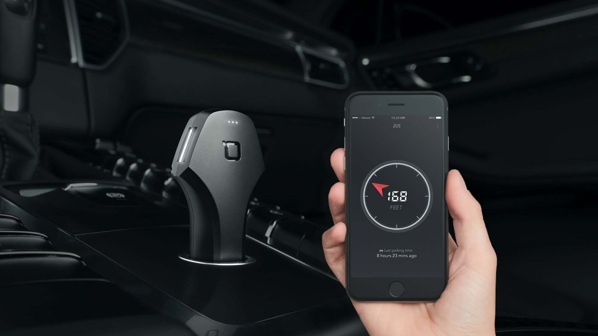 Nonda ZUS Smart Car Charger. Photo: Press release