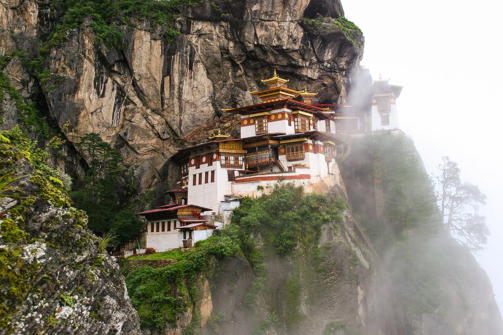 Taktsang Palphug Monastery.
