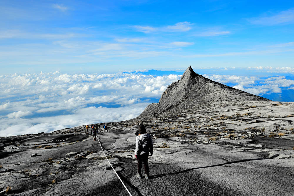 Kinabalu mountain in Kinabalu national park. Photo: Shutterstock