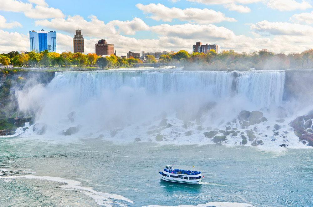 Panorama of Niagara Falls. Photo: Shutterstock