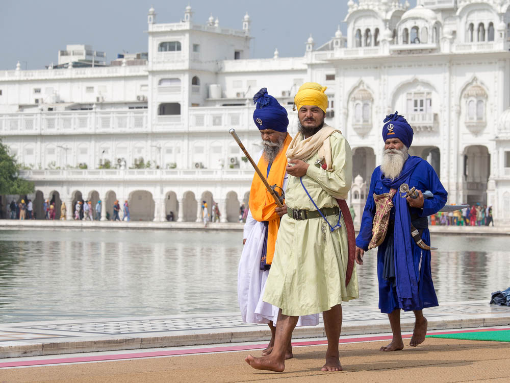 Sikh men visiting the Golden Temple in Amritsar. Photo: Shutterstock