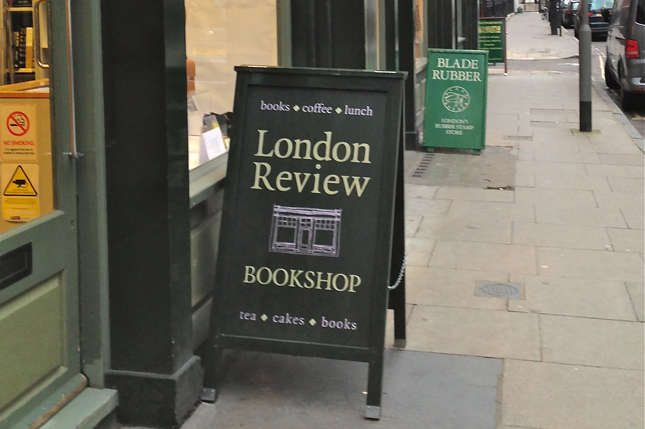 book review book shop