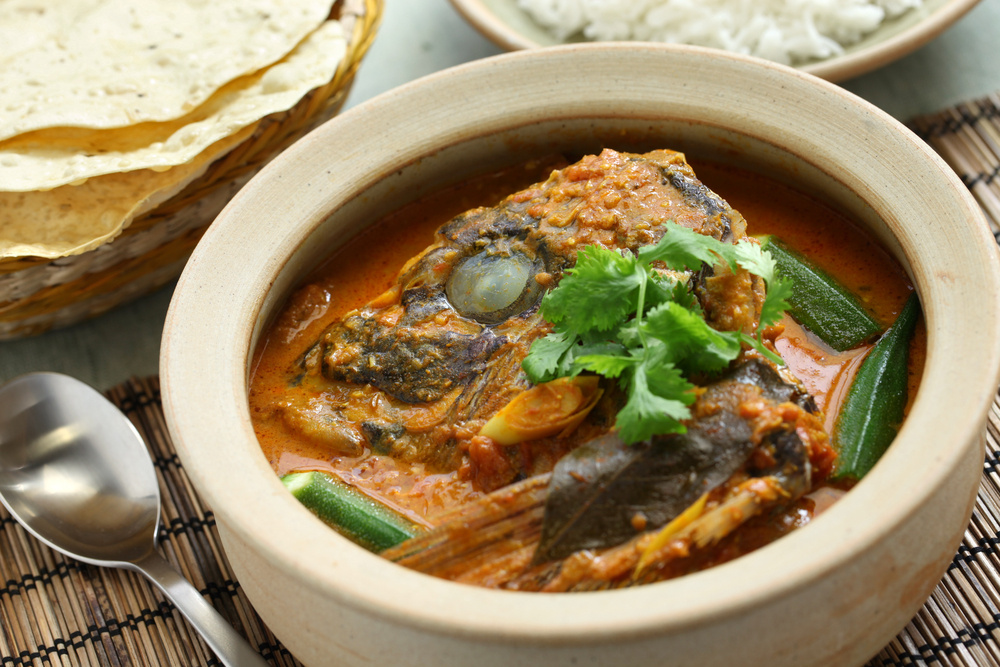 Fish head curry. Photo: bonchan/Shutterstock