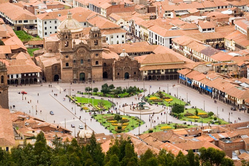 Plaza de Armas, Cuzco. Photo: Shutterstock