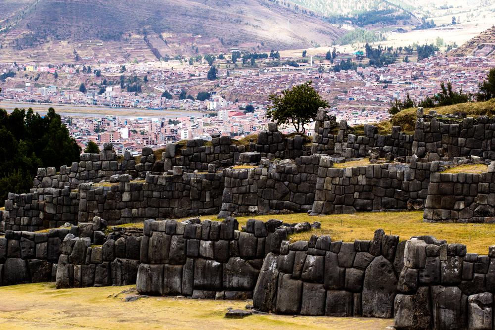 View of Sacsayhuaman wall, in Cuzco, Peru. Photo: Shutterstock