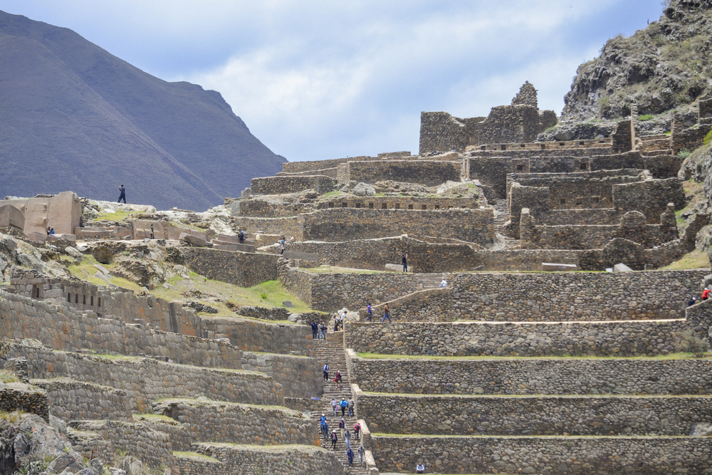 Inca Temple at Ollantaytambo. Photo: Shutterstock
