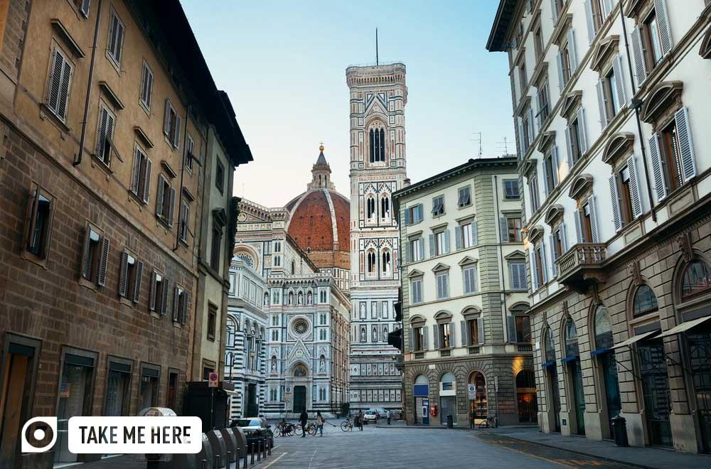 Duomo Santa Maria Del Fiore in Florence.