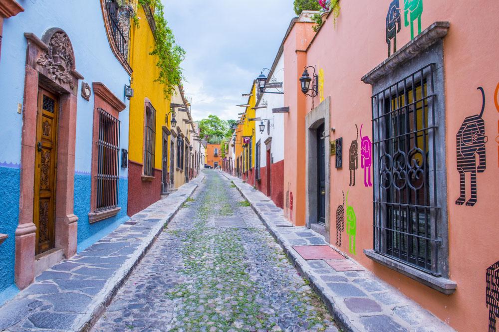 The historic city San Miguel de Allende is UNESCO World Heritage Site since 2008. Photo: Shutterstock