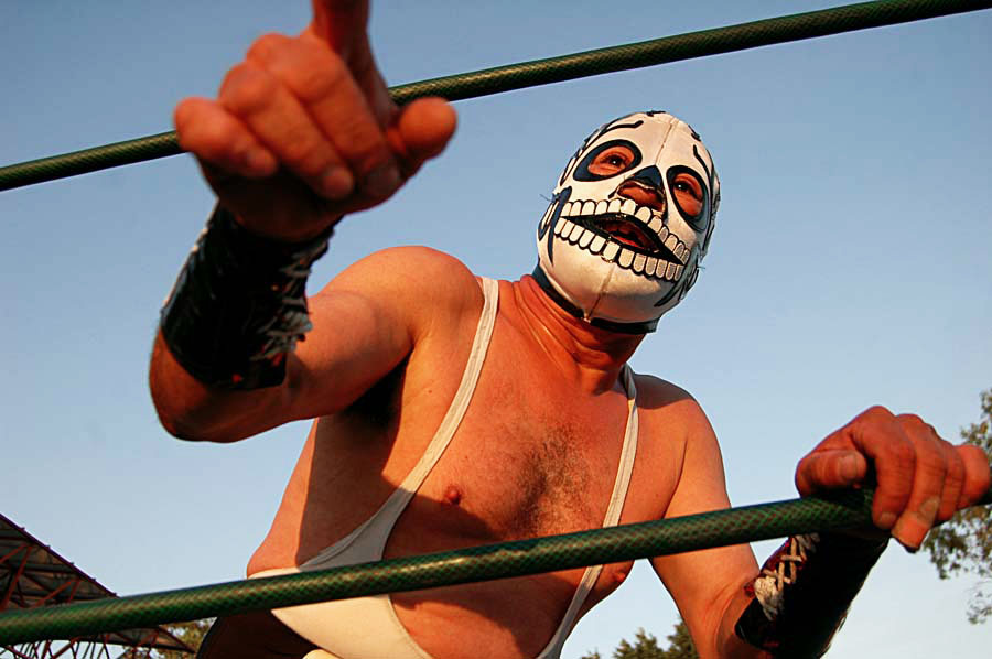 Mexican wrestling called lucha libre. Photo: ANGELOUX/Flickr