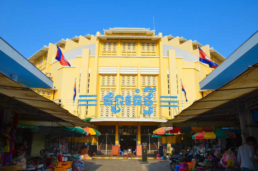 New Market, Phnom Penh. Photo: Indochina studio/Shutterstock