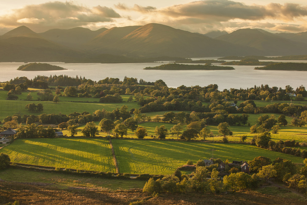View from Duncryne Hill over Loch Lomond. Photo: Shutterstock