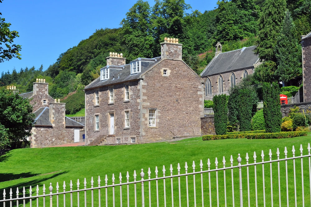 Robert Owens house in New Lanark. Photo: Shutterstock