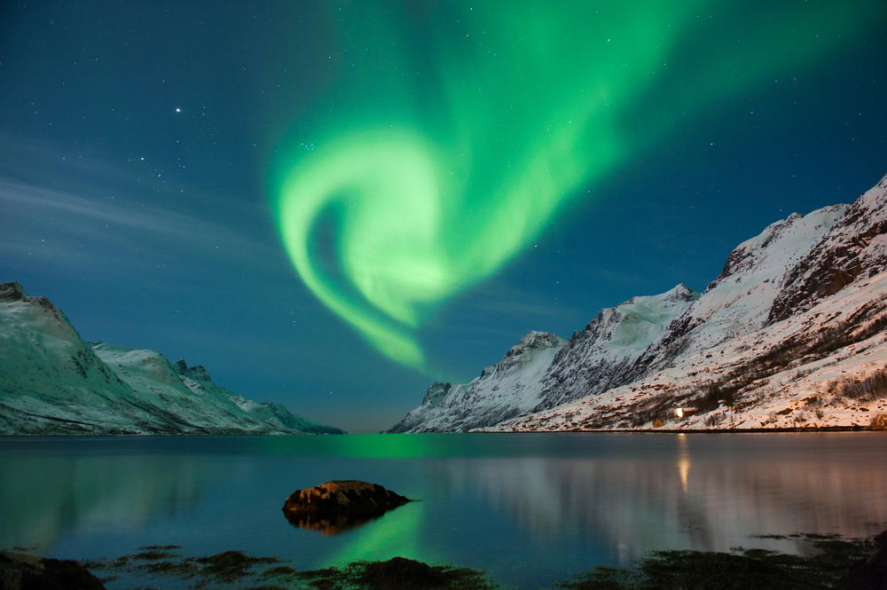 Northern Lights in Norway. Photo: Shutterstock