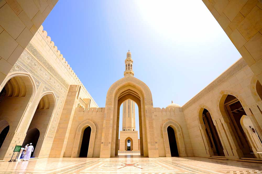 The Grand Mosque Gate in Muscat. Photo: Shutterstock