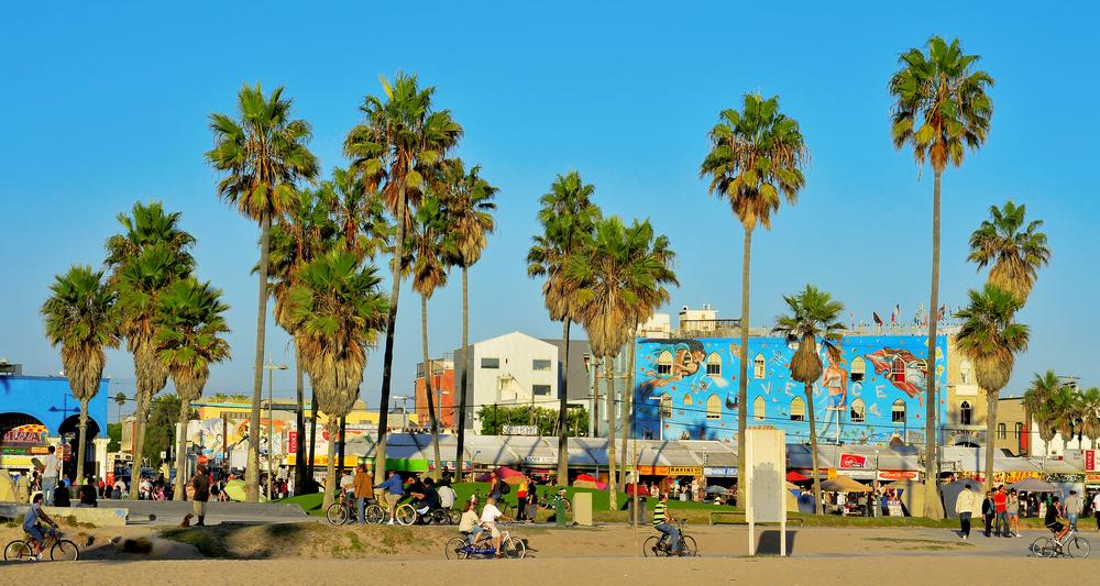 Laid-back Venice Beach. Photo: nito/Shutterstock
