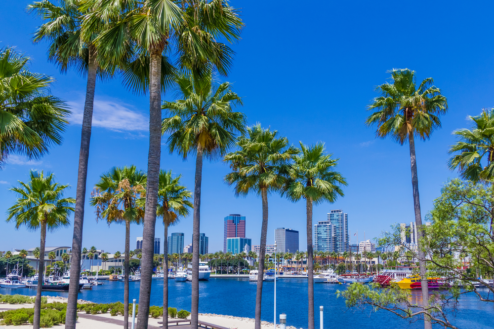 Rainbow Harbor, Long Beach. Photo: Patricia Elaine Thomas/Shutterstock