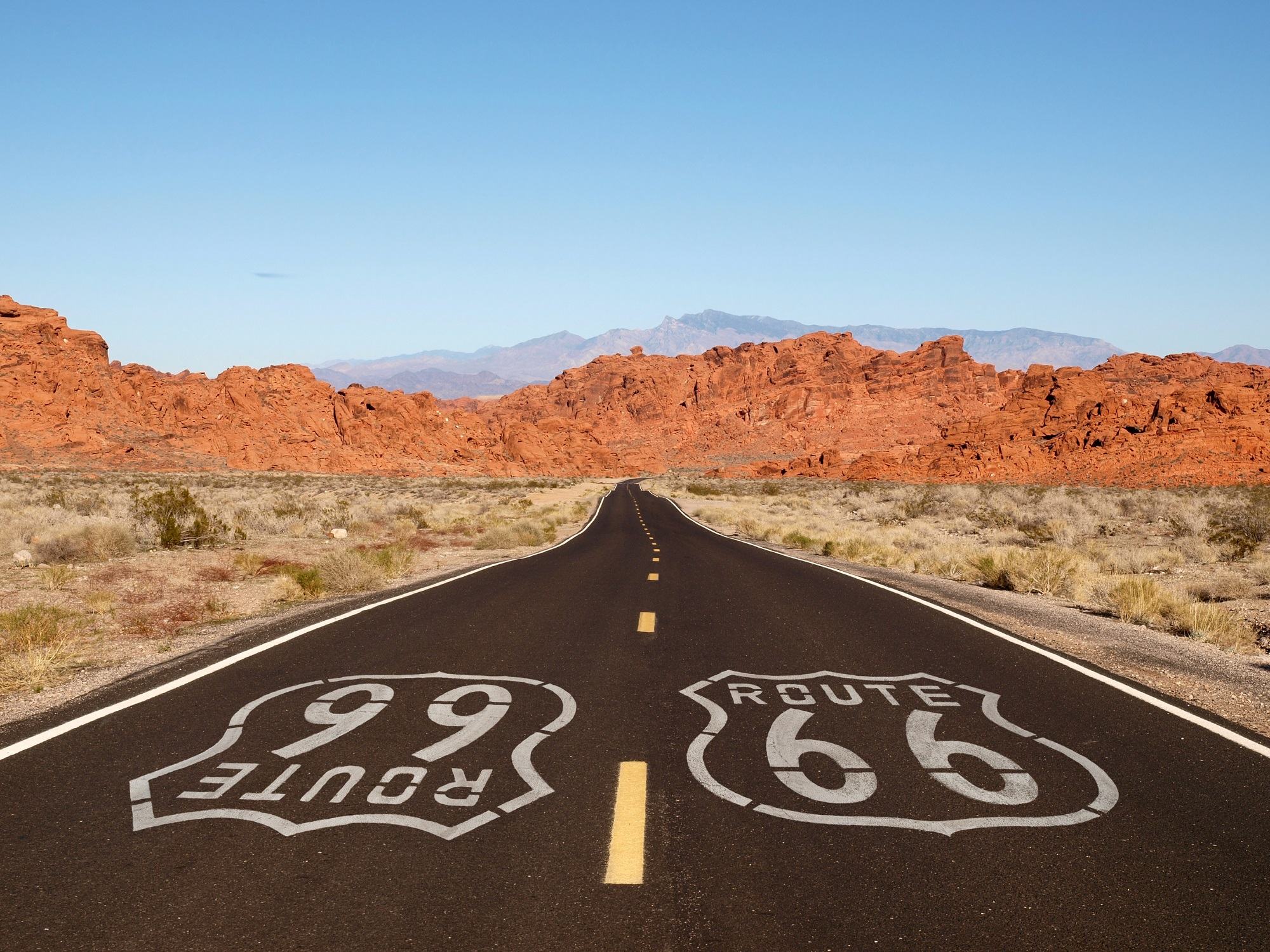 Route 66. Photo: trekandshoot/Shutterstock
