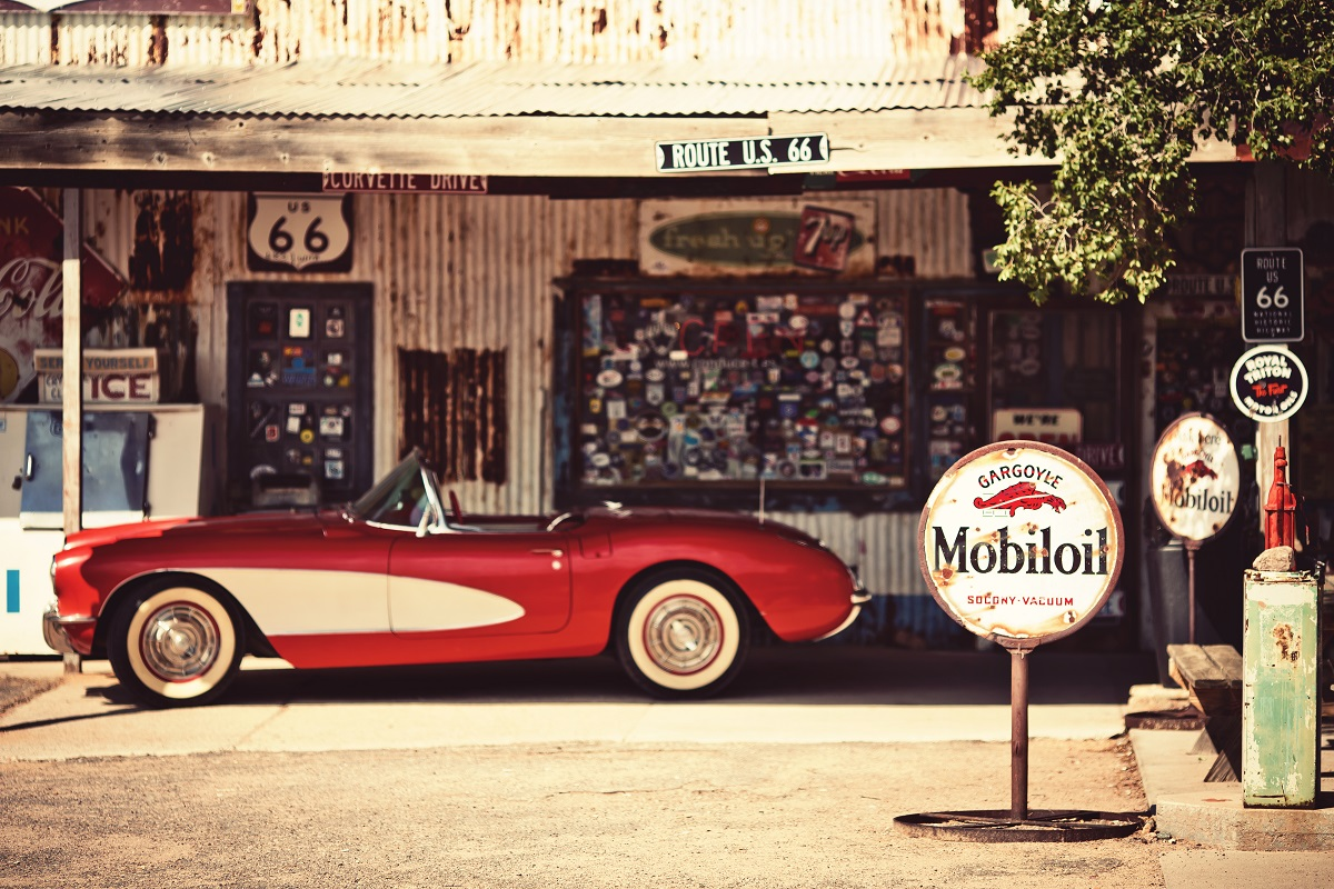 Hackberry General Store, a popular museum of old Route 66. Photo: Andrey Bayda/Shutterstock