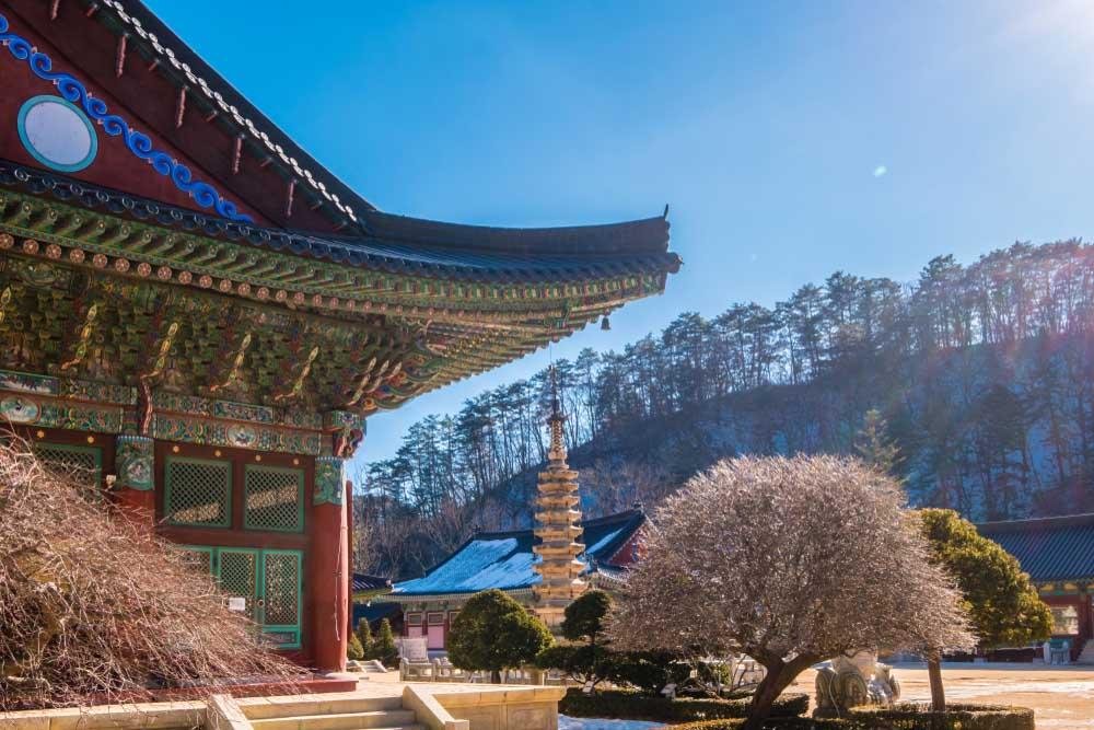 Woljeongsa Temple in PyeongChang