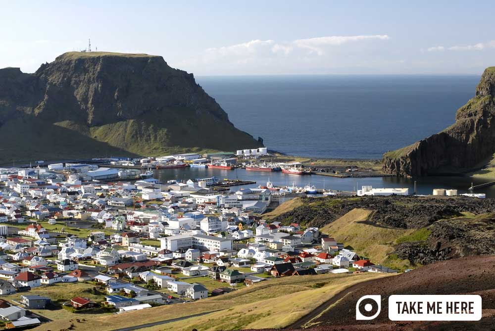 Heimaey, of the Westman Islands (Vestmannaeyjar), Iceland.