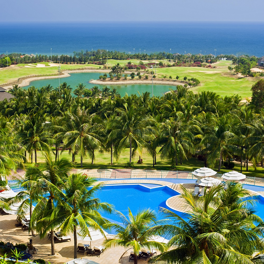 Golf course in Mui Ne. Photo: Perfect Lazybones/Shutterstock