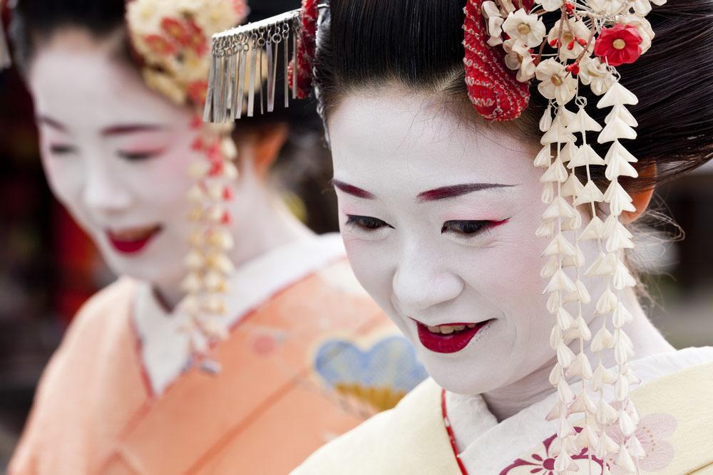 Kyoto Geishas. Photo: Shutterstock