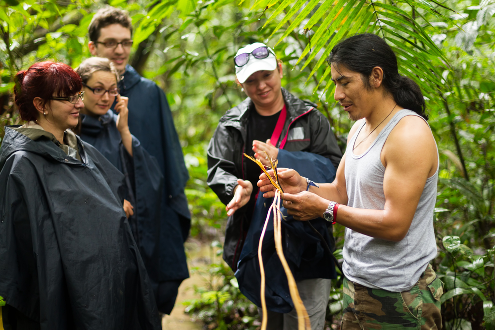 Local guide in rainforest. Photo: Shutterstock