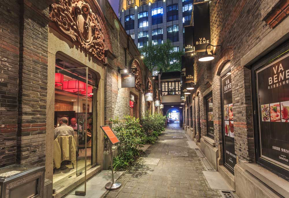 Xintiandi and Shikumen is Shanghai's the most distinctive residential area. Photo: Shutterstock