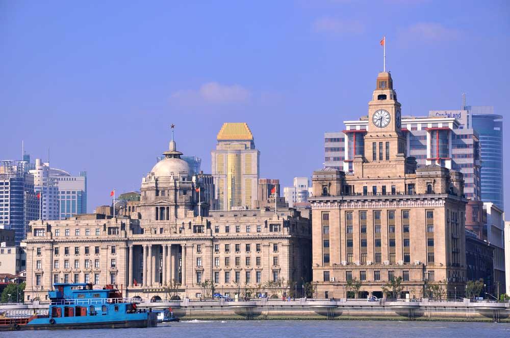 European-style buildings on Shanghai's Bund. Photo: Shutterstock