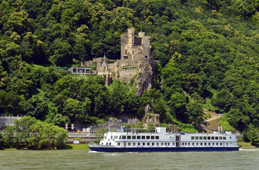 Spot beautiful castle in the Rhine Valley, Germany. Photo: Shutterstock
