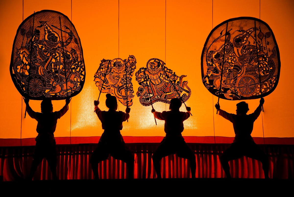 Thai shadow puppet drama. Photo: Rattanapat Wingpud/123RF