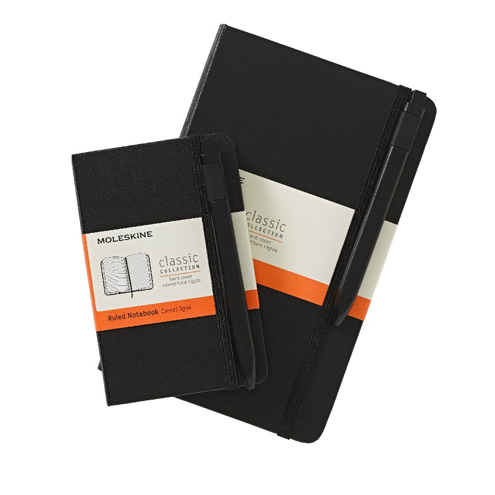 Moleskine Classic Notebook with Pen. Photo: Press release