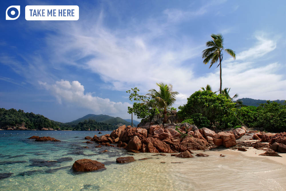 The idyllic waters of Pulau Redang make an obvious choice for a list of Malaysia's best beaches. Photo: Shutterstock